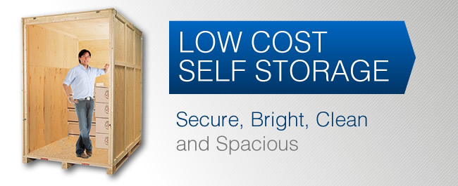 Low cost self storage